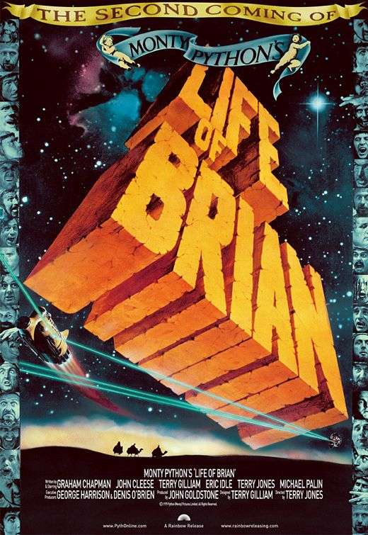 Showtime for Monty Python's Life of Brian playing May 21th, 2019 at